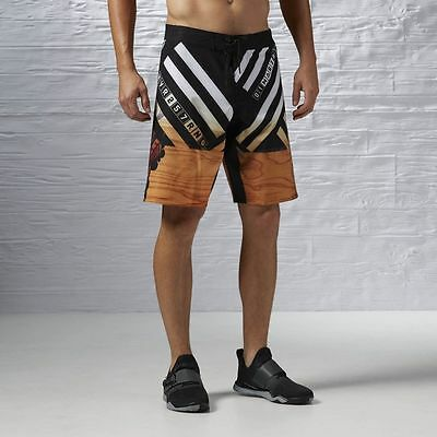 Reebok Men/'s One Series Power Nasty Timber Training CrossFit Shorts AI1671