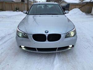 2004 BMW 530i. Fully loaded. Low km. Full maintenance!