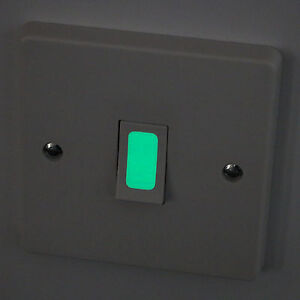 Image Is Loading Luminescent Glow In The Dark Vinyl Light Switch