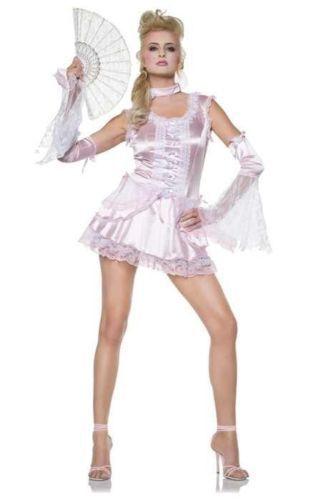 SEVEN TIL MIDNIGHT Mysterious Marie Antoinette Adult Costume MEDIUM
