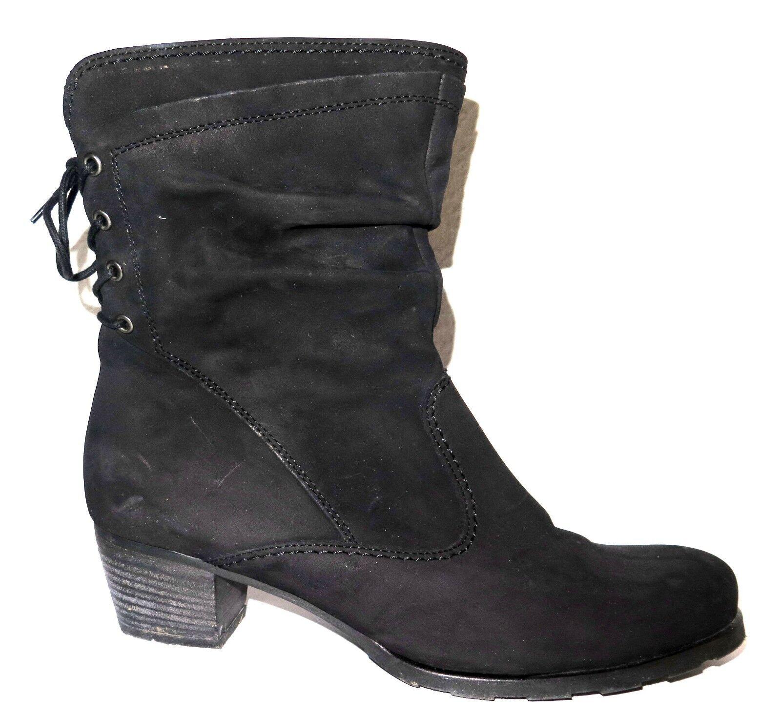 Gabor 96.604.47 Damen schwarz Kurzschaft Stiefel, Größe 41, schwarz Damen 5dd30f