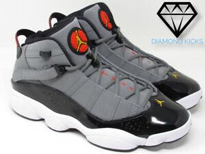 "Jordan 6 Rings ""Light Graphite"" (322992-022) SZ 8-12"