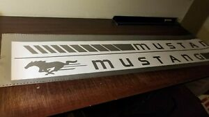 Sticker-Decal-Vinyl-Rocker-Panel-Stripes-for-Ford-Mustang-Louver-Grille-Lamp-Kit
