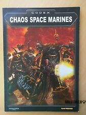 Codex CHAOS SPACE MARINES Warhammer 40,000 3nd ed Games Workshop 2002