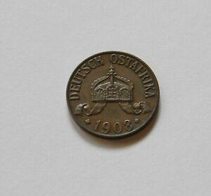 Doa : 1 Heller 1908 J, J. N716, Excelente/Recién Acuñado