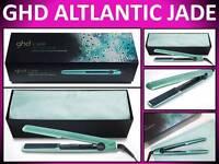 Ghd Gold Atlantic Jade 1 Hair Straightener Flat Iron Styler Gift Set & Bag