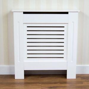 Cache Radiateur Moderne kensington cache radiateur petit (78x19x82cm) moderne mdf blanc
