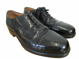 Genuine British Navy White Leather Parade Dress Shoes Men//Woman`s All Sizes