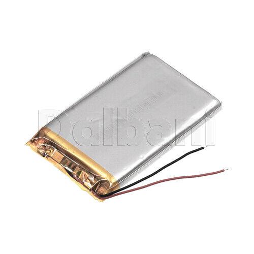 884975, Internal Lithium Polymer Battery 3.7V 4000mAh 88x49x75mm