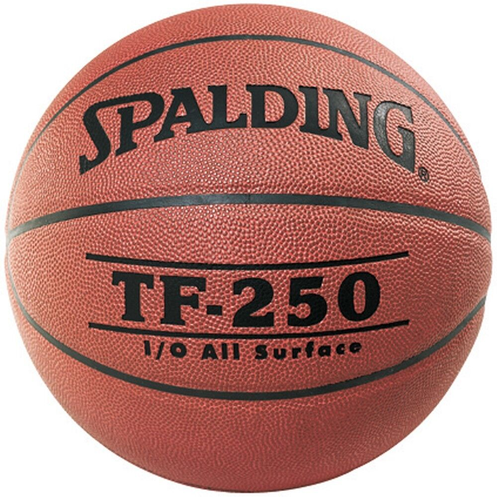 Spalding TF 250 PU Composite Leather Basketball (SIZE 7)   NEW