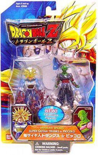 Ultimate Sparks Super Saiyan Trunks /& Piccolo 2.5-Inch PVC Figure 2-Pack