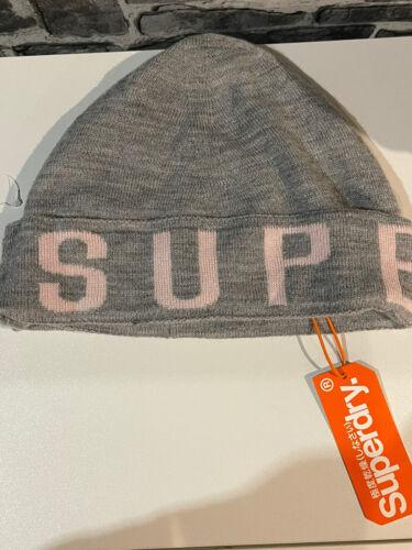 Superdry pour femme très chaud chapeau NOUVEAU RRP £ 16.99