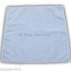 2-Pack-of-Lightweight-Microfiber-Towel-16-034-x16-034-Camping-Survival-First-Aid-Kits