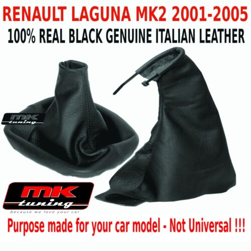Renault Laguna MK2 2001-05 Vitesse Box 5 6 Soufflet Frein à Main Cuir B Point