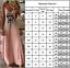 Donna-abito-estivo-vestito-spalline-maxi-vestiti-spiaggia-tempo-libero-Tunica-Scollo-a-V miniatura 3