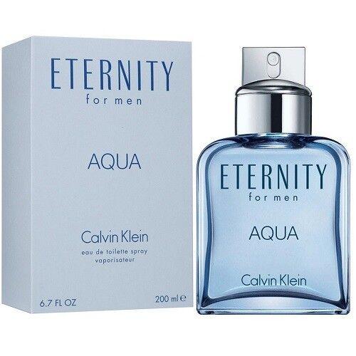 Ck Eternity Aqua 200ML EDT Men Brand New Sealed In Box