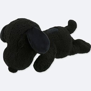 KAWS-X-PEANUTS-UNIQLO-SNOOPY-BLACK-PLUSH-TOY-SMALL