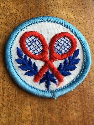 2 Snoopy Tennis Racket Embroidered Sew On Patches
