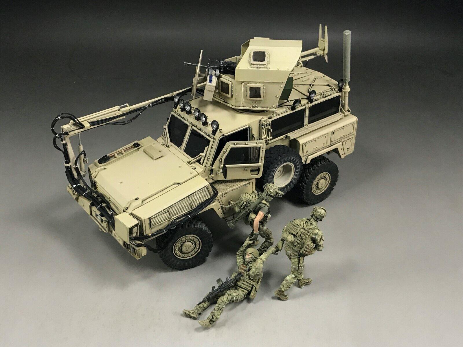 1  35 Built Kinetic 61015 U.S. RG -31 Mk5 MRAP Transportfordon modelllllerlerl (Pipes &Wires)