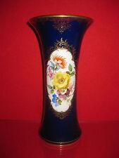 Meissen 1 Wahl Vase Kobalt Gold Amphore 25 cm B Form X Form Figur Prunk