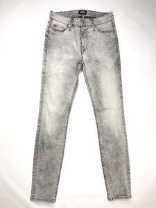 4aeb3d4bbf1 La foto se está cargando Hudson-Nico-Super-Skinny-Jeans-Mediados-de-subida-