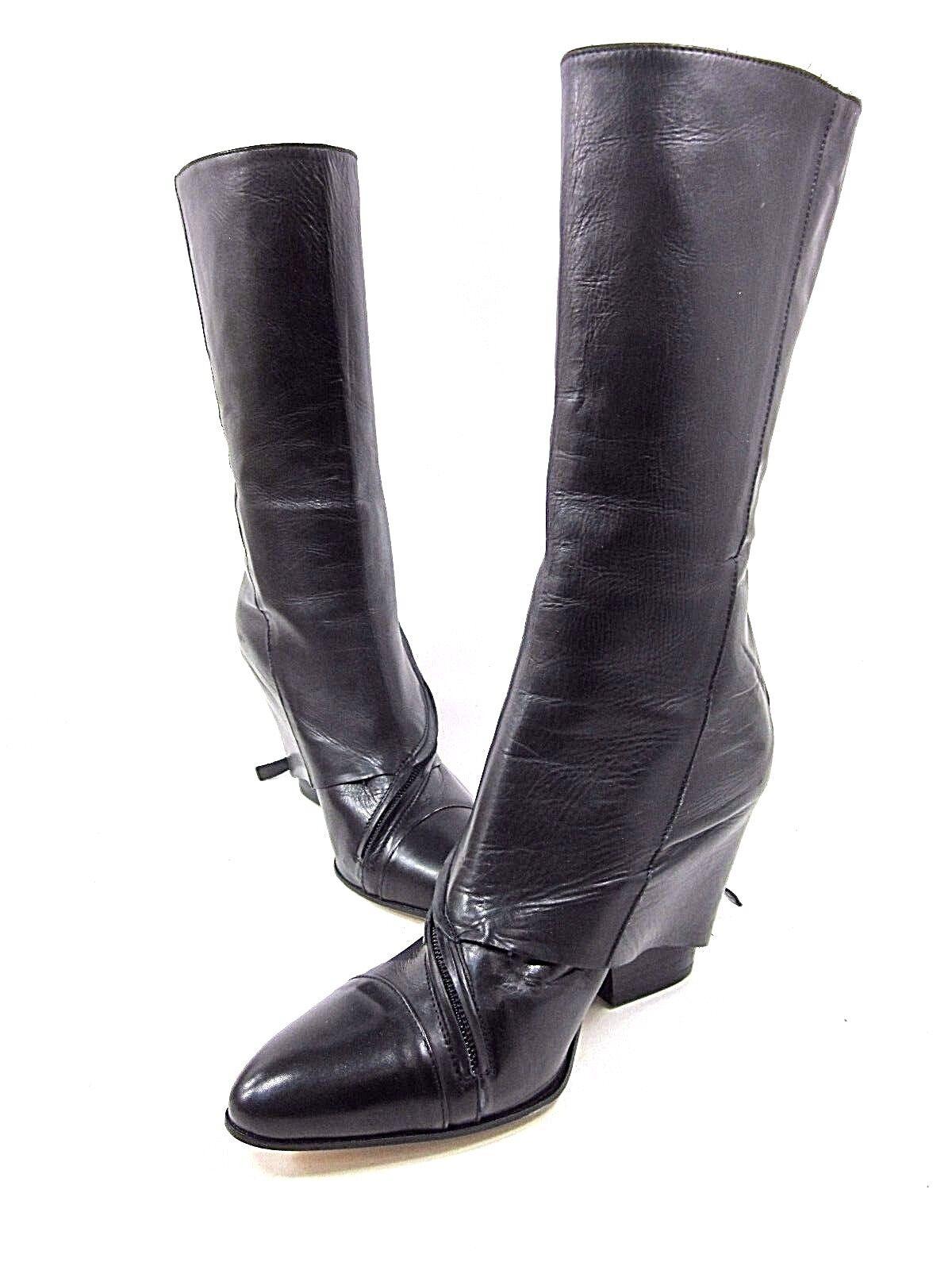 EILEEN SHIELDS, WYNN Stiefel, Stiefel, Stiefel, damen, schwarz, US 8M, EURO 38.5M, NEW WITHOUT BOX 8072b6