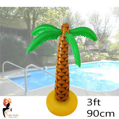 90cm Inflatable Blow Up Hawaiian Tropical Palm Tree Beach Pool Party Decor