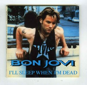 1-TRACK-PROMO-CD-SINGLE-BON-JOVI-I-039-LL-SLEEP-WHEN-I-039-M-DEAD-FRANCE