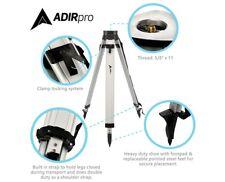 Adirpro Black Flat Head Aluminum Tripod Survey Contractor Laser Auto Level