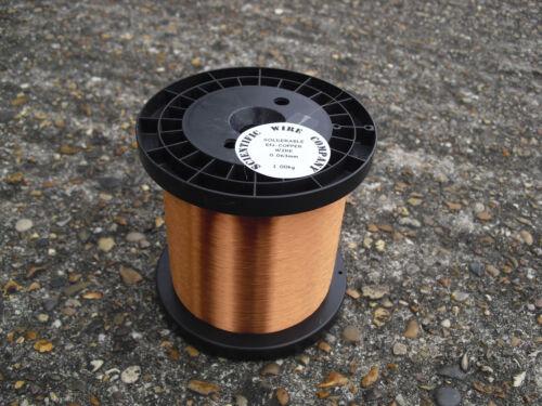 0.20mm EMAILLIERT KUPFERDRAHT SPULEN KABEL,HOHE TEMPERATUR MAGNET Kabel 1 kg