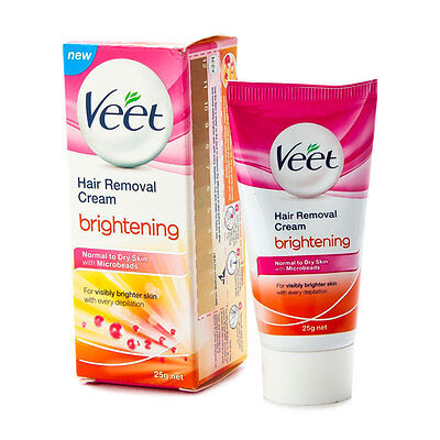 Veet Hair Removal Cream Brightening Normal To Dry Skin 25g Ebay