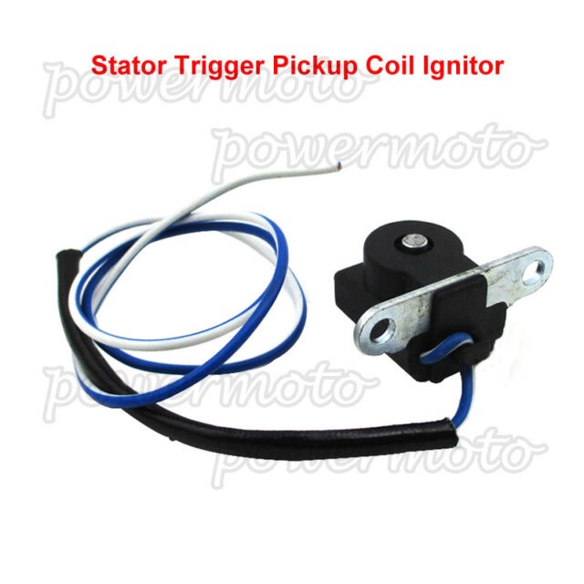 Stator Trigger Pickup Coil Ignitor Fit GY6 50 125 150c Scooter Moped ATV Go Kart