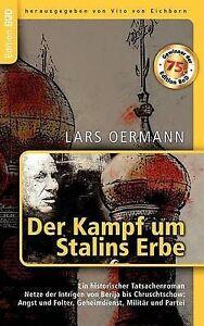 Der-Kampf-Um-Stalins-Erbe-Paperback-by-Oermann-Lars-Brand-New-Free-P-amp-P-in