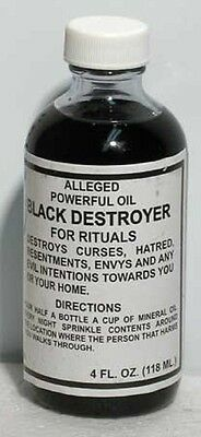 Black Destroyer Oil Hoo Doo Wicca Pagan Witchcraft