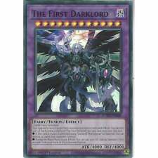 Super Rare 1st Edition Yu-Gi-Oh x1 The First Darklord ROTD-EN040 M//NM
