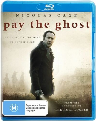 1 of 1 - Pay The Ghost (Blu-ray) Drama, Mystery, Thriller, Horror, Nicolas Cage