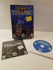 Hidden-Expedition-Titanic-2006-Small-Box-PC-Game-VGUC-Windows-98-ME-2000-XP