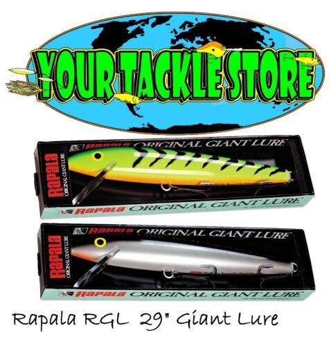 Rapala Rgl FT /& SB Giant Lure Choisir couleur /& quantité NEUF sous emballage