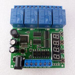 Dc 5v 9v 12v 24v 4 channel multifunction delay time timer relay image is loading dc 5v 9v 12v 24v 4 channel multifunction sciox Gallery