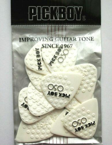 12 PickBoy Mega Grip ceramic Picks Plektren 0,50 mm