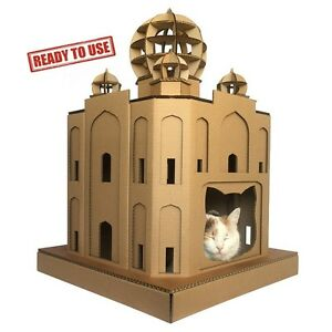 Taj-Mahal-Cardboard-Cat-House