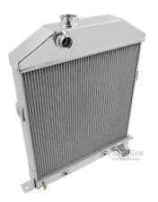 1946 1947 1948 Ford Coupe w/Chevy V8 Champion 3 Row Aluminum Radiator CC46CH