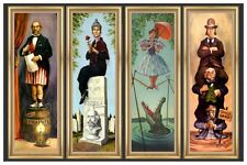 "HAUNTED MANSION STRETCHING ROOM  - DISNEY POSTER  - 18"" x 12"""