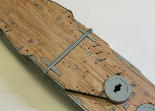 Wood Deck for 1//350 HMS Warspite LCD-46 fits Academy kit by Scaledecks