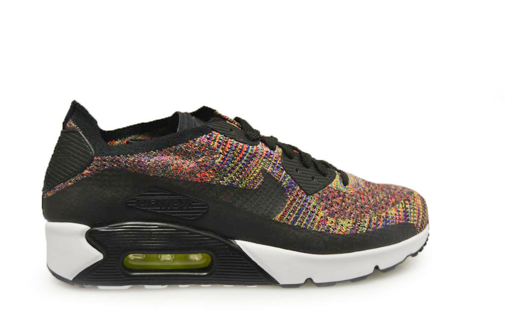 Mens Air Max 90 Ultra 2.0 Flyknit - 875943  002 - Multicolour Trainers