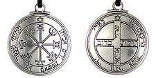 "Solomon Seal Pendant Talisman Pentacle of Jupiter kabbalah Wiccan Jewelry 1 1/2"""