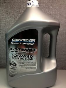 Mercury-Quicksilver-4-Stroke-25W-40-Synthetic-Blend-Oil-Gallon-Jug