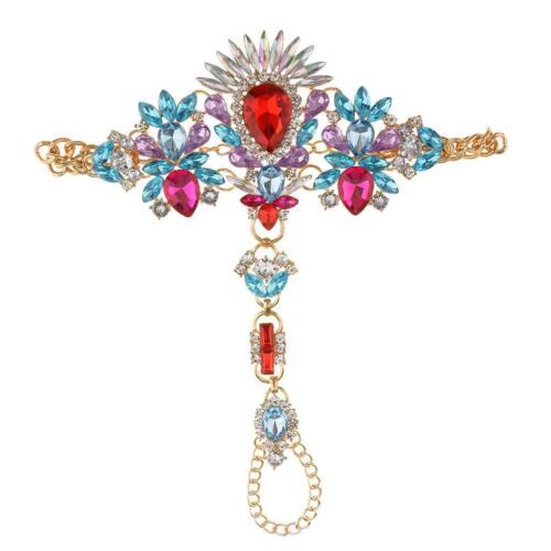 Chaine de Cheville Bracelet Pieds Diamant Faux Bijoux de Pied Femme Cadeau