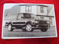 1992 Gmc Typhoon 11 X 17 Photo Picture
