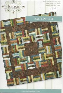Bali Dancer Quilt Pattern Fabric Sew Applique Jelly Roll Strips